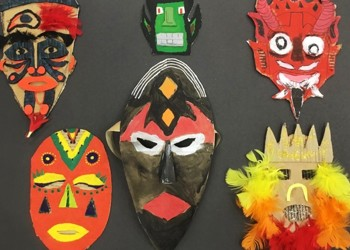 Year8 Mask Making