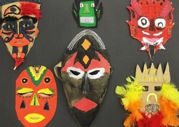 Year8 Mask Making