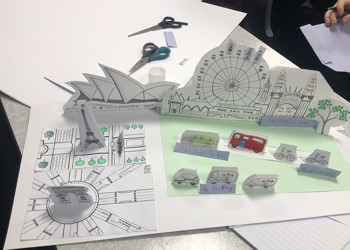 3D French models from Year 8