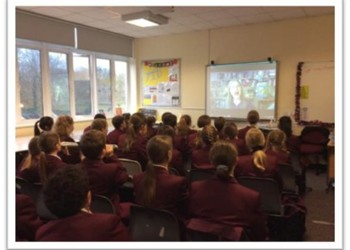 Virtual Author Visit for Year 7