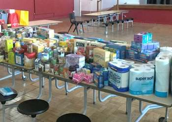 Foodbank donations are still going strong
