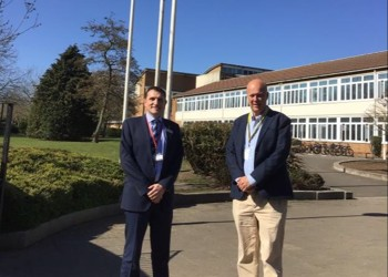 Blenheim welcomes back Chris Grayling MP and observes St George's Day