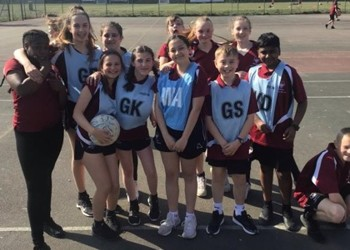 Year 7 House Netball Competition