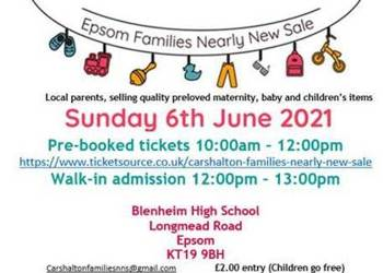 Nearly New Sale is coming to Blenheim!