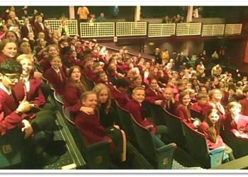 Year 7 trip to watch Macbeth