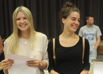 Record breaking A level results