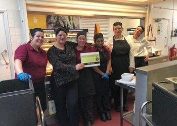 5 Star Food Hygiene Rating awarded to Blenheim Canteen!