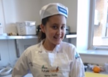 Jasmine wins Regional Final of Futurechef and will compete in the National Final!