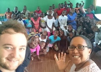 Half-term staff visit to our link school in Kenya