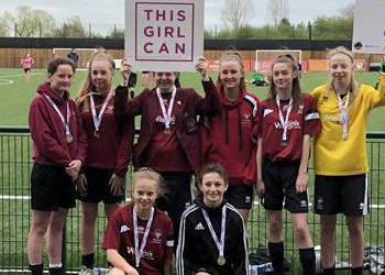 Surrey's 7-a-side champions!