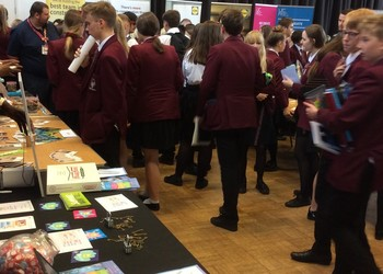 Blenheim Careers Fair a success with lots of familiar faces!