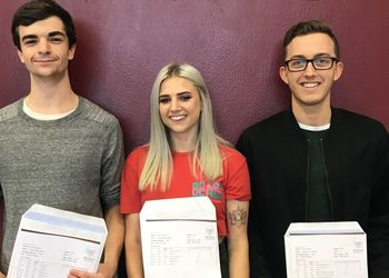 Students celebrate excellent A level and BTEC results
