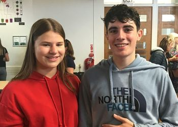 Celebrations as GCSE results hit a record high!