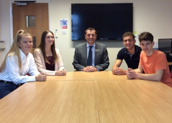 Head Boy and Head Girl Announcement