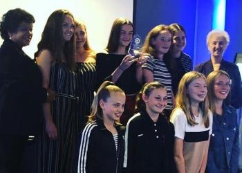 Girls' Football Success