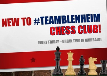 Exciting News - Chess Club comes to Blenheim