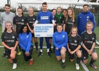 Chelsea Football Festival - Students meet their heroes