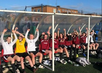 Another Victory for our Under 15 Girls' Football Team