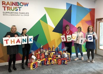 Thanks from the Rainbow Trust
