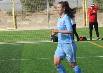 Further England Schools' Football Success for Amelie