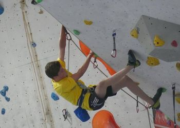 National Climbing Success for Toby