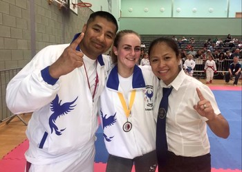 Karate Success for Louise