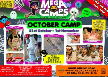 Mega Camps at Blenheim this half-term