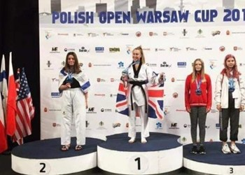 Gold again for Leyla!