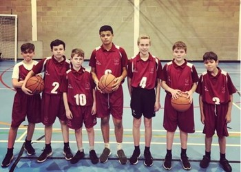 Year 8 Boys' Basketball – North Surrey Schools Tournament