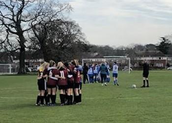 Girls' Under 16 Football ESFA National Cup Quarter Final