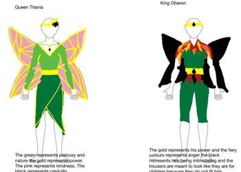 A Midsummer Night's Dream costumes